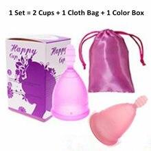 coletor menstrual cup copa de silicona medica mestrual reusable pads period copita