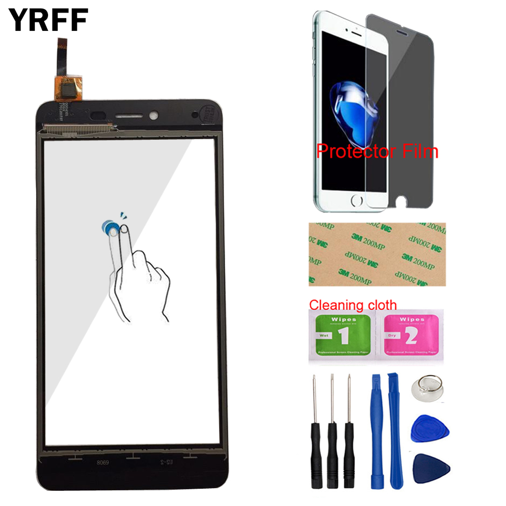 Repair ZQ House LCD Screen and Digitizer Full Assembly for BQ BQ-5700L Space X Color : Black Black