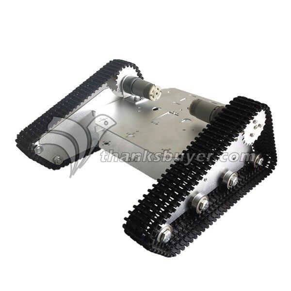 TK-100 Enredadera Truck Robot Rastreador de Seguimiento Chasis de Coches Robot Kit Base para Arduino DIY Juguete DEL RC
