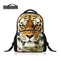 Dispalang 3D Dog Bagpack For Children Newest Design Felt Backpack Girls Stylish Shoulder Bag Animal Prints