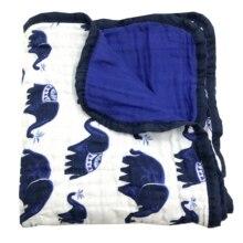 สี่/หกชั้นผ้าฝ้าย 100% ผ้าห่มเด็กทารกแรกเกิด Swaddling Super Comfy ผ้าห่ม Swaddle Wrap ทารก Muslin ผ้าห่ม