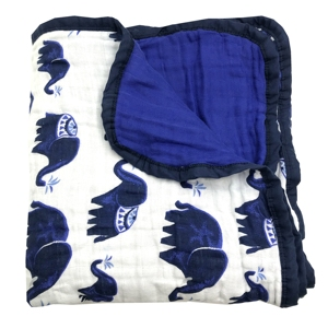 Image 1 - Cztery/sześć warstw 100% bawełniany koc noworodek pieluszki Super wygodne koce pościel owijka dla niemowląt niemowląt muślinowy koc