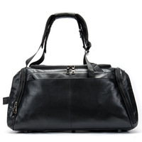 Мужская кожаная сумка на одно плечо с большой вместительностью, износостойкая, легкая, многофункциональная большая сумка