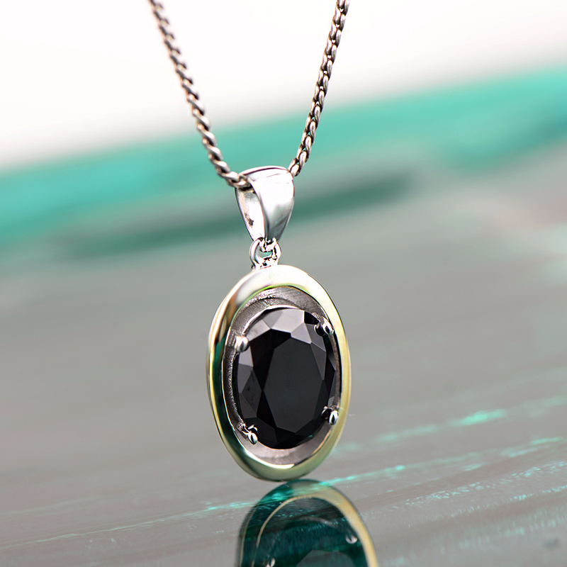 Faceted Black Onyx,Zerconia,Round Shape 6 Gram Set In 92.5 Solid Silver,Sterling Silver,Natural Gemstone Earring .85  p-1148