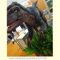 Amusement Theme Park Equipment Electronic Artificial Animatronic Dinosaur Simulation Dinosaur