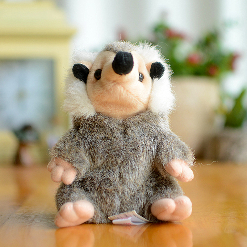 Collection Hedgehog Kids Plush Toys Wild Hedgepig Grey Lifelike Lovely Gifts Kawaii Simulation Stuffed Animals Dolls Cute Urchin