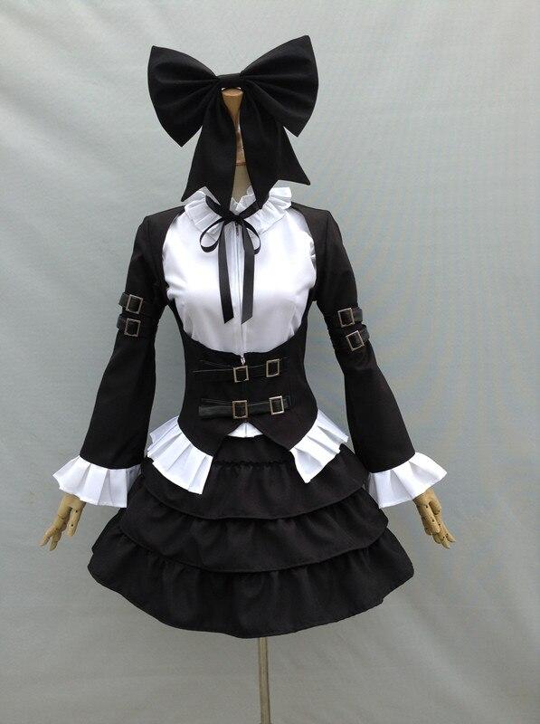 Fairy Tail Erza Scarlet Cosplay Costume Lolita Dress