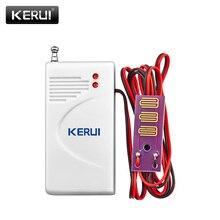 KERUI Высокое качество беспроводной датчик утечки воды для домашней безопасности GSM/PSTN сигнализация 433 МГц детектор сигналов тревоги система