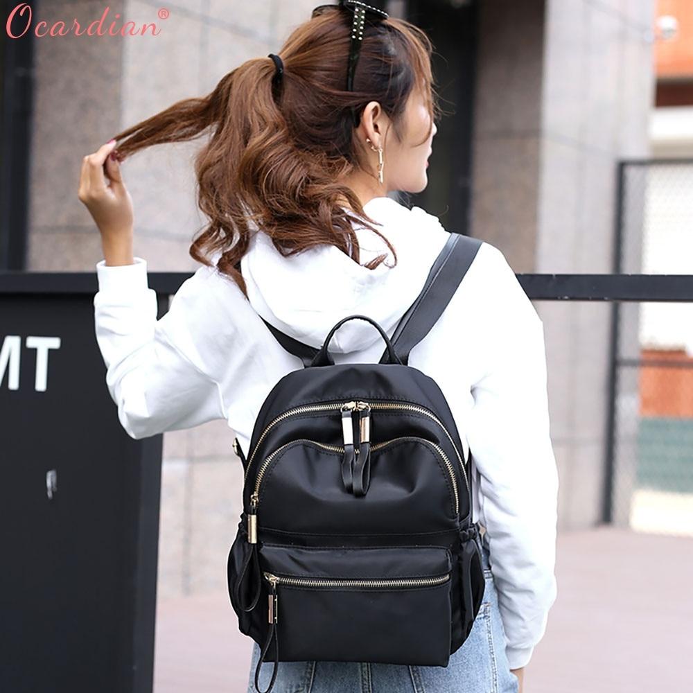 Ocardian Backpacks Leisure Oxford Backpack Women Backpack Female For School In Korean Style Backpack Female Jl 17 #6