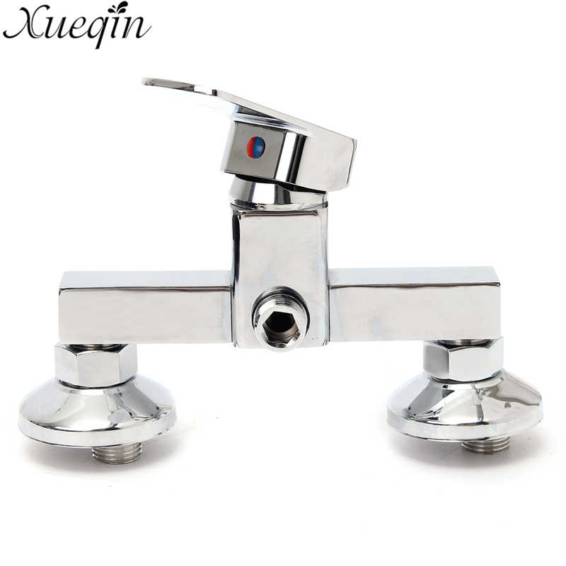 Xueqin Bathroom Bath Faucet Shower Faucet Bathtub shower Brass Chrome finish Thermostatic Wall Mounted Shower Mixing Valve beelee high quality chrome wall mounted bathroom thermostatic faucet thermostatic valve bathroom shower faucet bathtub faucet