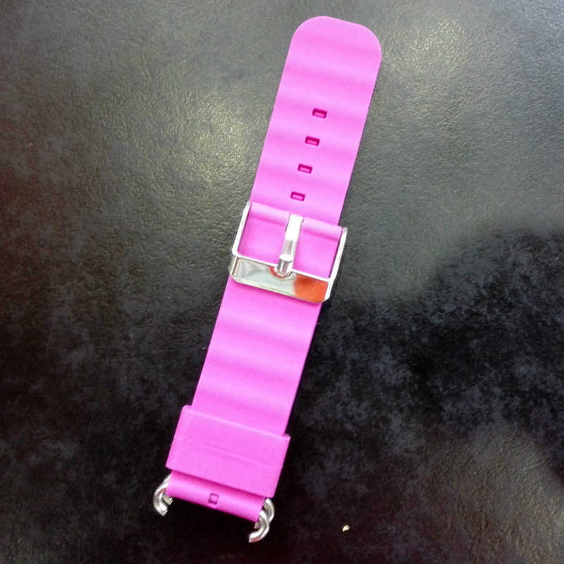 Replace Smart Watch Strap for Watch Strap Q90 Q750 Q100 Q60 Q80 Children's GPS Tracker Watchband Silicone Wrist with Connection