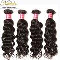 10 - 26 дюймов перуанский девы волос естественная волна, Необработанные перуанский глубокая волна тело ткать 7A перуанский человеческие волосы ткать пучки