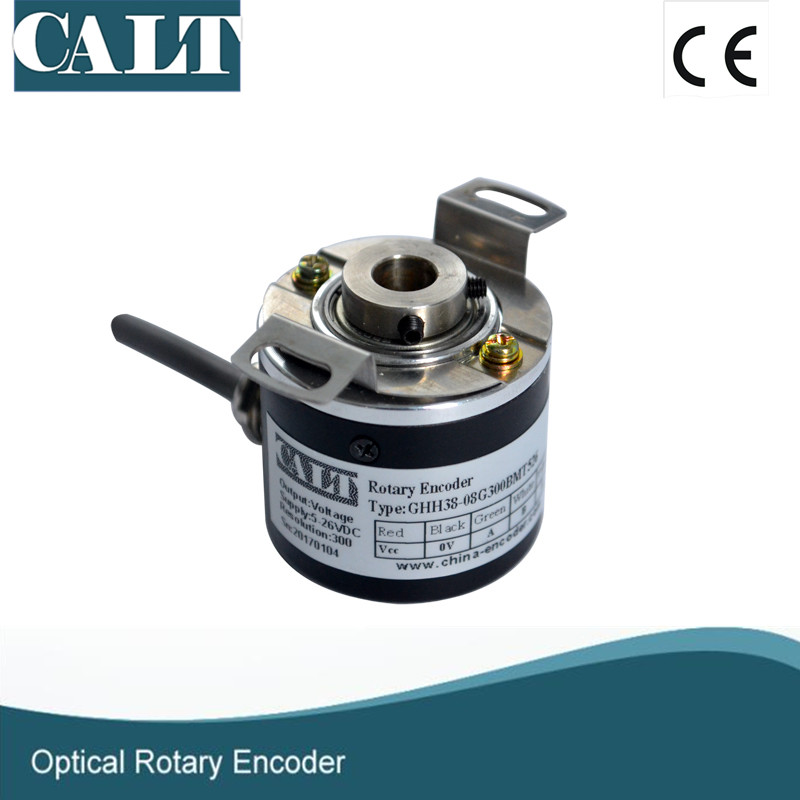 цена CALT optical sensor 6mm hollow shaft 2048 pulse rotary encoder GHH3806G2048BML5 free shipping