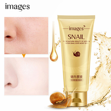 IMAGES Snail Essence Cleansing Gel Deep Clean Shrink Pores Moisturizing Oil Control Whitening Face Skin Care 100g