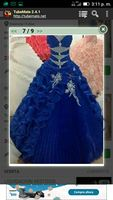 Gardlilac Azul royal vestido de Baile vestido