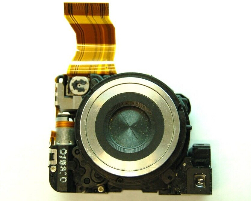 NEW Lens Zoom Unit For SONY Cyber-shot DSC-W200 W200 Digital Camera Repair Part Silver