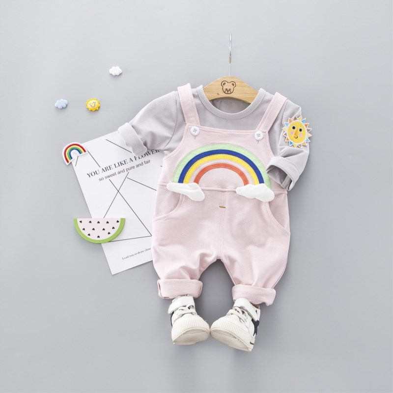 2019 Spring Baby Girls Clothing Sets Fashion Clothes Sport Suits 2PCS For Tops  Outfits