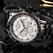 LIGE męskie zegarki Top marka luksusowa moda zegar kwarcowy męska wodoodporna duża tarcza zegarek mężczyźni wojskowy Sport zegarek Erkek Kol Saati