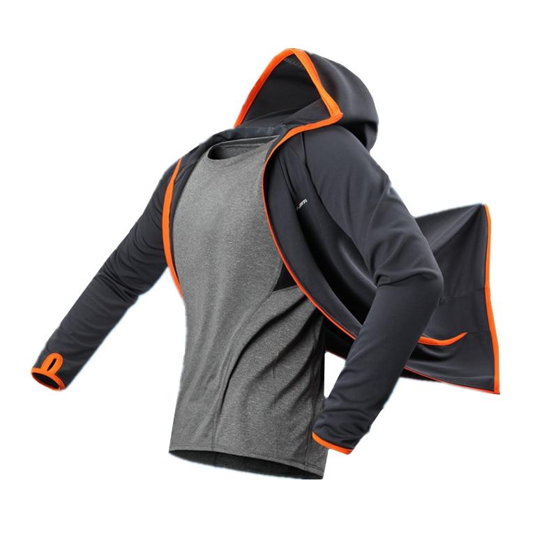 De Pêche en plein air Veste Vêtements Ag + Fiber De Carbone Tissu Sport Gym Étanche Confortable Hommes de Remise En Forme Vêtements Tops Plus La Taille ropa hombre