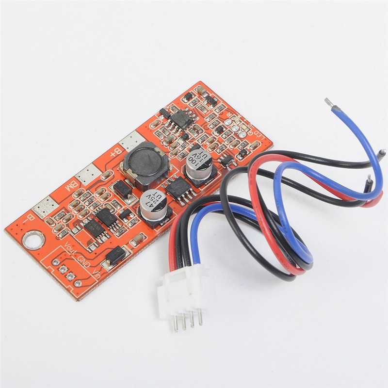 <font><b>2S</b></font> Balance Charger Protection Board Satellite Finder Power Module 18650 Li-ion Lithium Battery 8.4V <font><b>LED</b></font> Indicator BMS