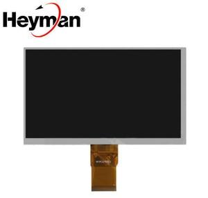Heyman 7-дюймовый ЖК-дисплей, экран (800*480), (164*97 мм), плоский кабель 40 мм, 50-контактный) для китайского планшетного ПК, запасные части