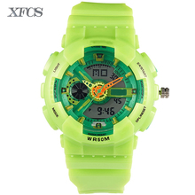 XFCS 2017 waterproof watches for kids original children watchs shockesportivo top brand digitales watch military boy clock kid