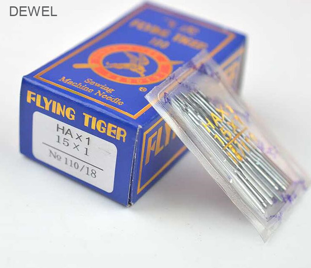 10pcs Household Sewing Machine Needles For Fnaghua Singer Brother Janome Toyota Juki Butterfly Feiyue  Old Type Sewing Machine