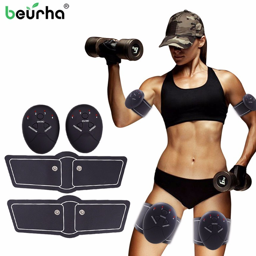 Beauty & Health Slimming Massager Shaper Ems Abdominal Muscle Trainer Smart Abs Stimulator Sculpting Massager Pad Fitness Gym Arm Stickers