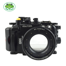 Seafrogs für Canon PowerShot G9X G9X II 40m 130ft Meikon Unterwasser kamera gehäuse
