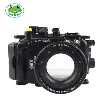Seafrogs for Canon PowerShot G9X  G9X II 40m 130ft Meikon Underwater camera housing - DISCOUNT ITEM  23% OFF All Category