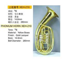 Bass Large musical instrument Large paint gold b bond baritone Large