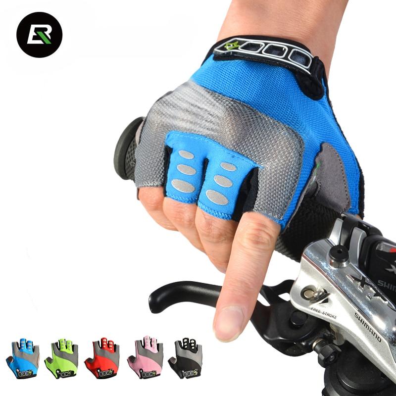 RockBros Cycling <font><b>Gloves</b></font> Men Women GEL Breathable Guantes Ciclismo Half Finger MTB Road Bicycle Bike <font><b>Gloves</b></font> Gants Velo