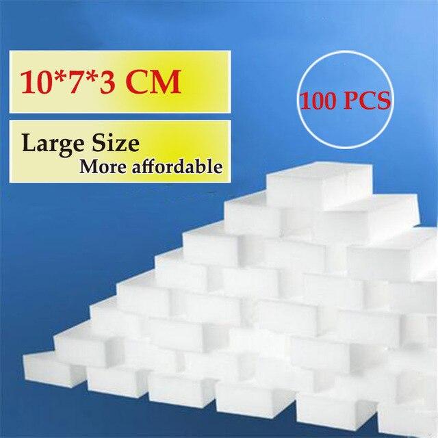 100Pcs 10*7*3CM Magic Sponge Eraser Kitchen Duster Wipes Clean Accessory/Microfiber Dish Cleaning Melamine Sponge Nano Wholesale