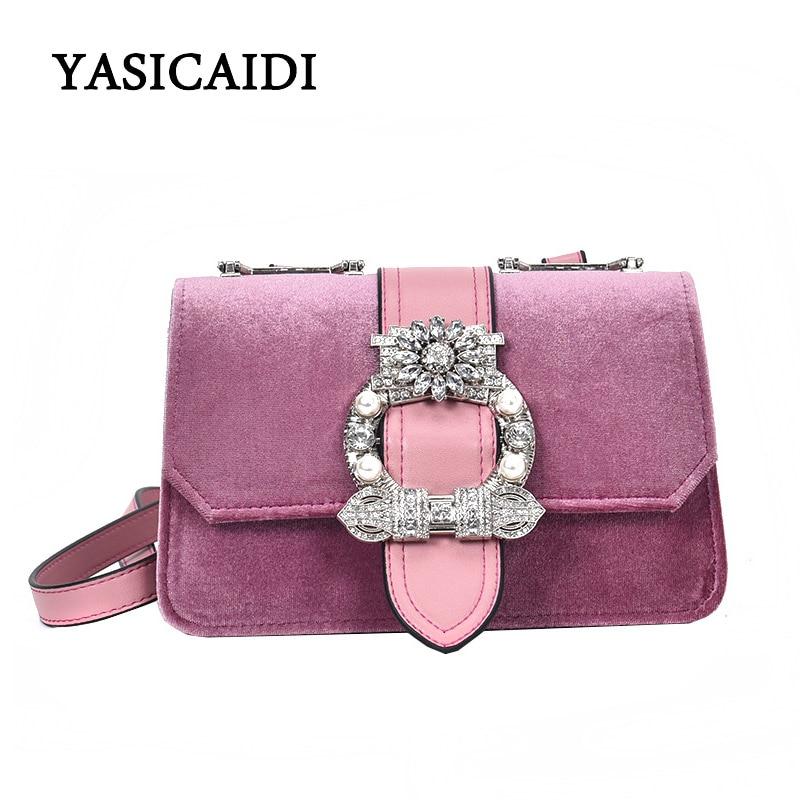 Famous Fashion Brand Women Crossbody Bags Luxury Diamond Women Handbags High Quality PU Leather Women Messenger Bags Spring