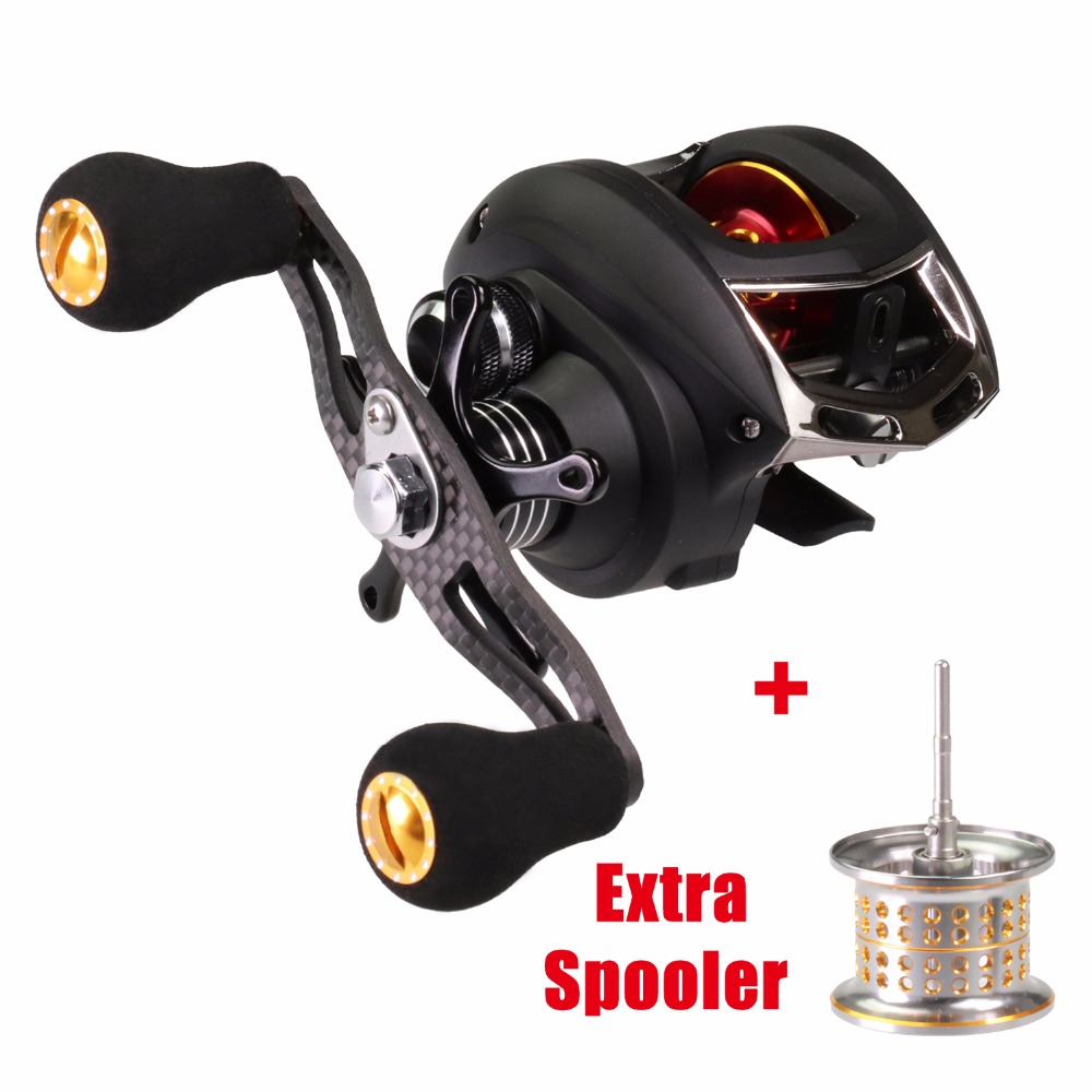 Baitcasting Reel Fishing Reels 9+1 BB +1 Extra Spooler Left/Right Bait Casting Fishing Reels carretilha Coils Windlass YOSHIKAWA цена 2017