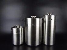 Портативная мини кулер для пива, нержавеющая сталь 304, 5л/3,6 л/2л, аксессуары для пивных бутылок, домашний инструмент для изготовления пива в баре