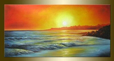 Pintura Original Al Oleo Paisajes Marinas Bestbid Mall A230 In