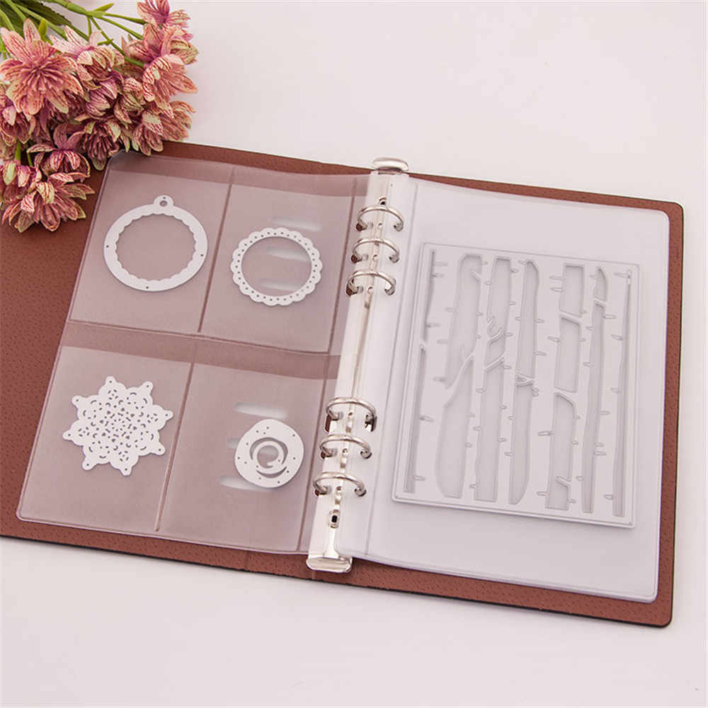 DIY Scrapbooking Cutting Dies Stencil Storage Book Case Organizer DIY Die Cutter Template Books Collections
