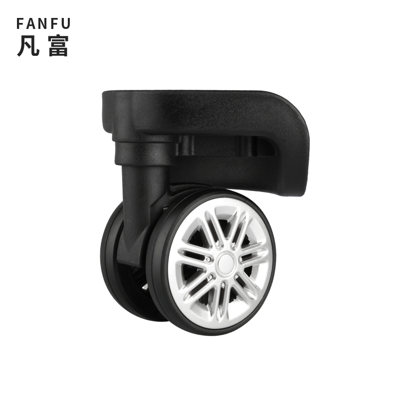 Luggage Replacement Wheels Suitcase Accessories Repair Luggage Equipment  Universal Black Casters Password Fashion Casters Wheel