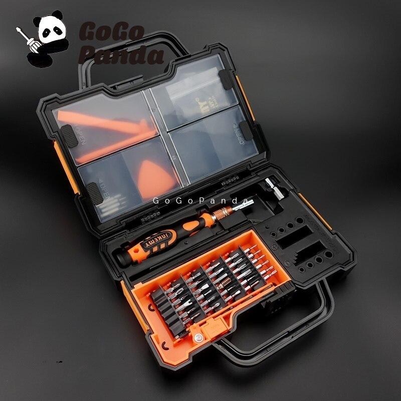 Livraison Gratuite 44-en-1 Tournevis Kit Avec Pièces Boîte pour Mobile Téléphone De Réparation Plus Ou Moins Magnétique zone