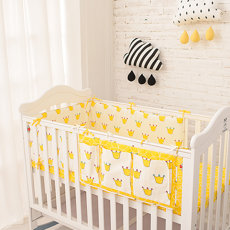 New ProducCrown Bedding Set Multi Functional Baby Safe