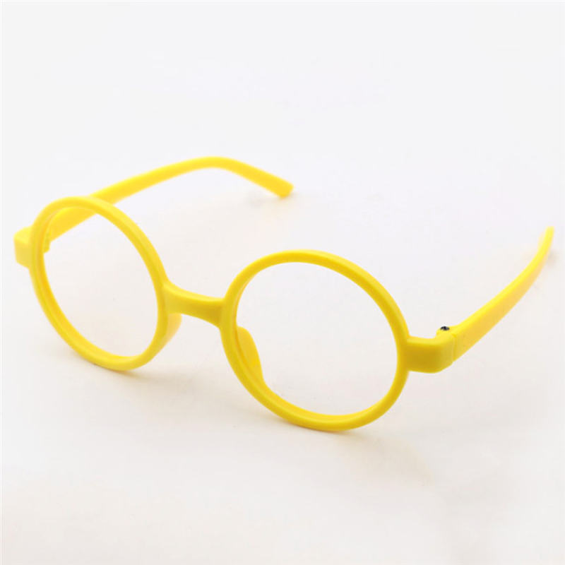 18e6e033bf Round Cute Glasses Kids Frames Wholesale New Girl No Lens Glasses PC Frame  Candy Colour Cheap 2-10 Years Old 0168
