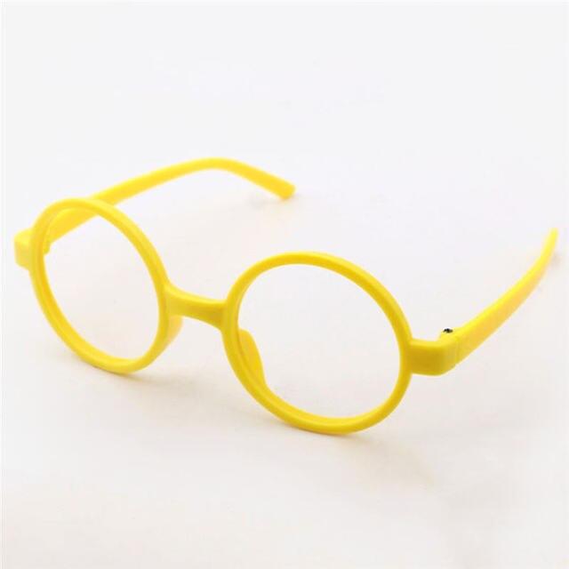 Round Cute Glasses Kids Frames Wholesale New Girl No Lens Glasses PC ...