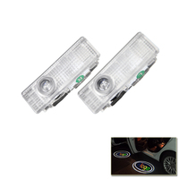 2x Led Door Courtesy Logo Shadow Ghost Lamp Projector Lights For BMW X5 X6 2014 For