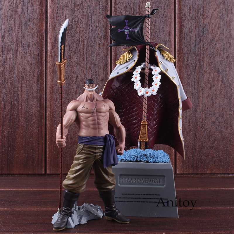DXF One Piece Figure The Grandline Men Special Whitebeard Edward Newgate & Gravestone PVC Action Figure Collectible Model Toy 1