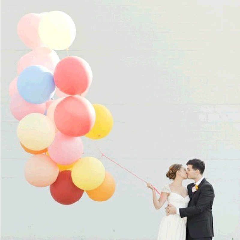 Hot 5pcs Colorful Latex Balloon 36inch Giant Big Round Balloon Inflatable Balloon for Outdoor activity Wedding Party DIY Decor