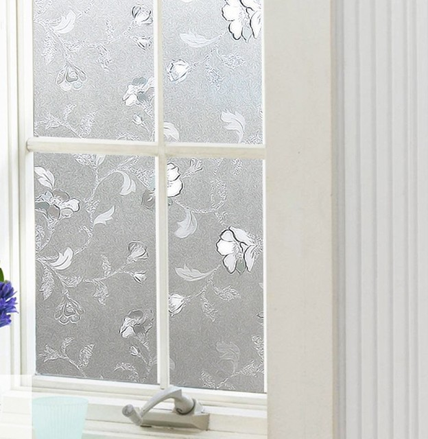 Frosted UV static cling 45cm x 300cm living room sliding door decorative privacy decorative window film  sc 1 st  AliExpress.com & Frosted UV static cling 45cm x 300cm living room sliding door ...