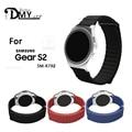 Buen precio de la correa brazalete de eslabones para samsung gear s2 classic watch banda de cuero genuino lazo ajustable cierre magnético