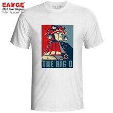 The Big O T-shirt Retro Mech Anime Cartoon Pop Punk Parody Hope Poster T Shirt Novelty Rock Casual Women Men Unisex Top Tee