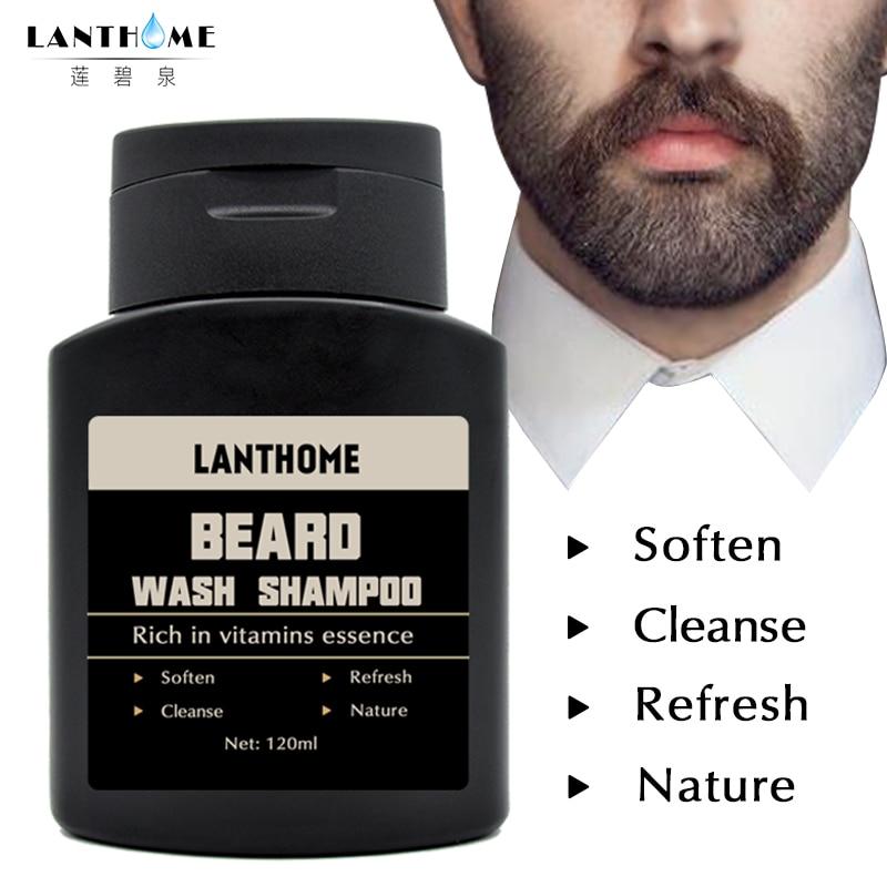 Herbal Beard Wash Shampoo and Conditioner Beard Clean Liquid